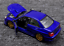 Welly-1-24-Subaru-Impreza-WRX-STI-Diecast-Model-Racing-Car-Blue-NEW-IN-BOX-Toy thumbnail 3