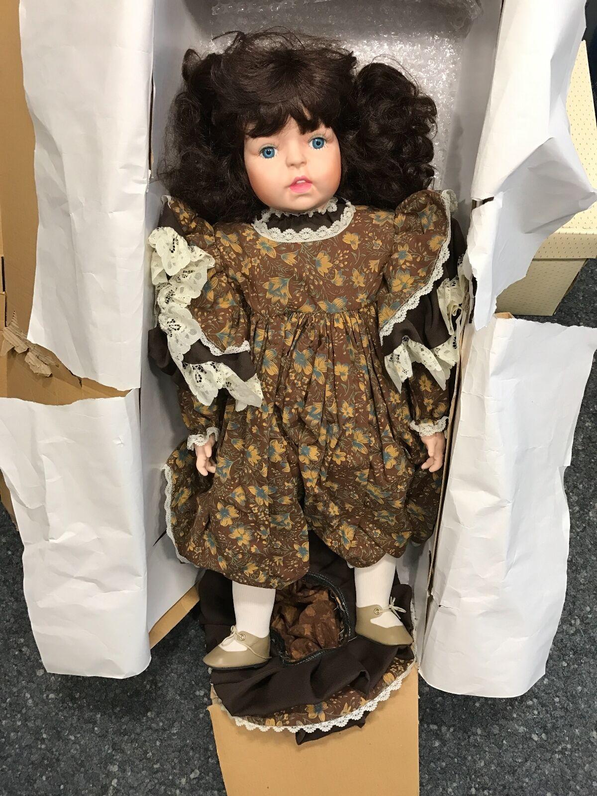 Artistas muñeca muñeca de porcelana 73 cm. top estado
