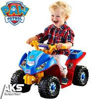 Paw Patrol Lil Quad Power Wheels Kids 4 Wheeler Ride On Electric Toy Atv Car