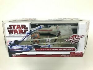 Star-Wars-Legacy-Collection-3-75-034-Wedge-039-s-Antilles-039-X-Wing-Starfighter-MISB