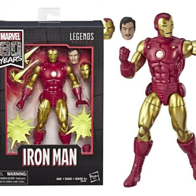 Marvel Legends 80th Anniversary Iron Man New in Sealed Box