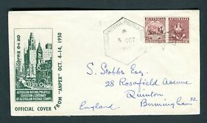 Australia-1950-ANPEX-Philatelic-Exhibition-Cover