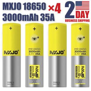 2pcs-4pcs-18650-35A-LI-ON-3000MAH-HIGH-DRAIN-LI-ON-Rechargeable-BATTERY-3-7v-USA