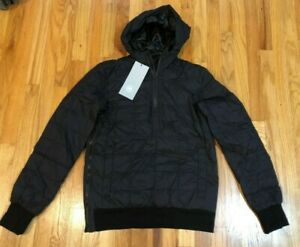 NEW-CANADA-GOOSE-MENS-WILMINGTON-PULLOVER-JACKET-MENS-BLACK-2212M-DOWN-FREE-SHIP
