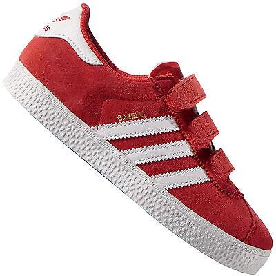 adidas Originals Gazelle Kinder-Sneaker Turnschuhe Sportschuhe Klettverschluss