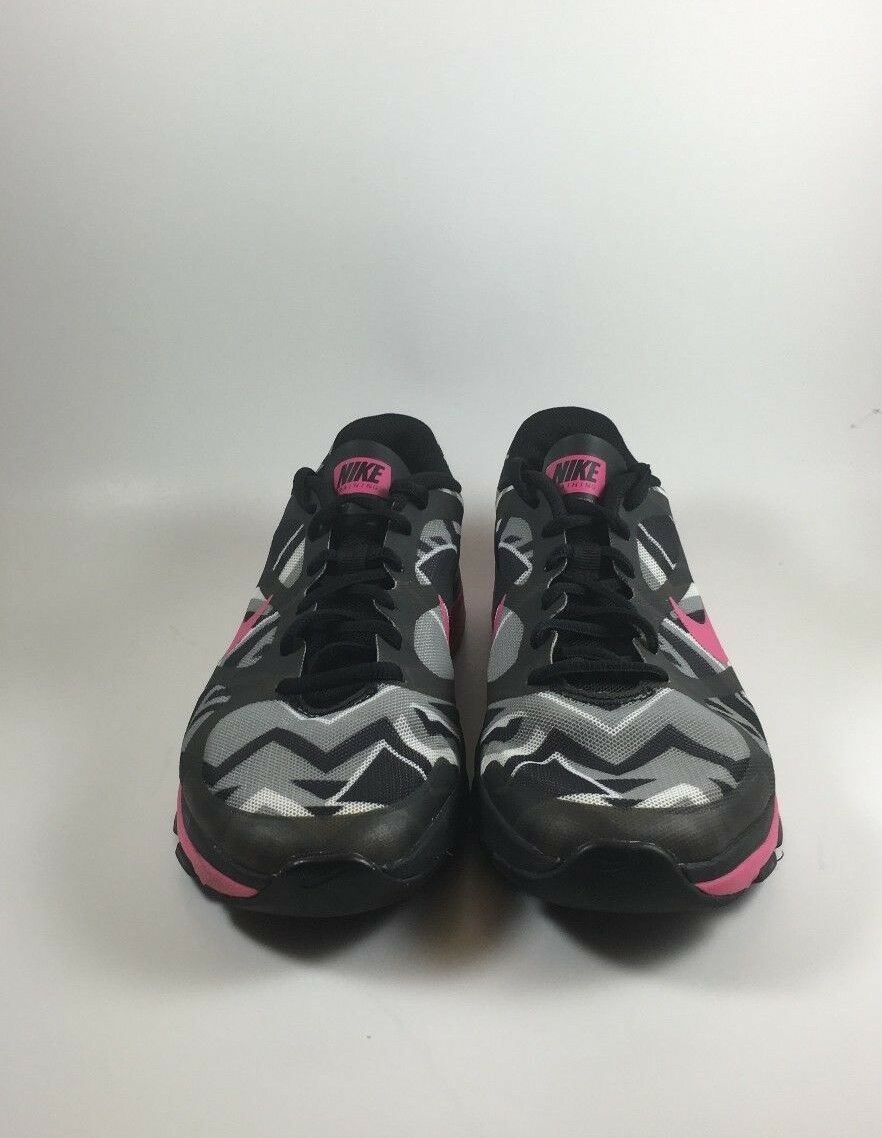 Womens Nike 7B Pink Black Gray Dual Fusion Running Shoe Worn once Good Condition best-selling model of the brand