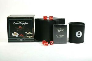Ross and Rye Dice Cup Box Set with Box, Cards and Premium Dice