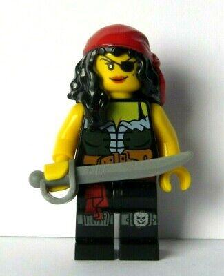 Lego Female Girl  Minifigure Figure Fortune Teller Maid Reversible Head