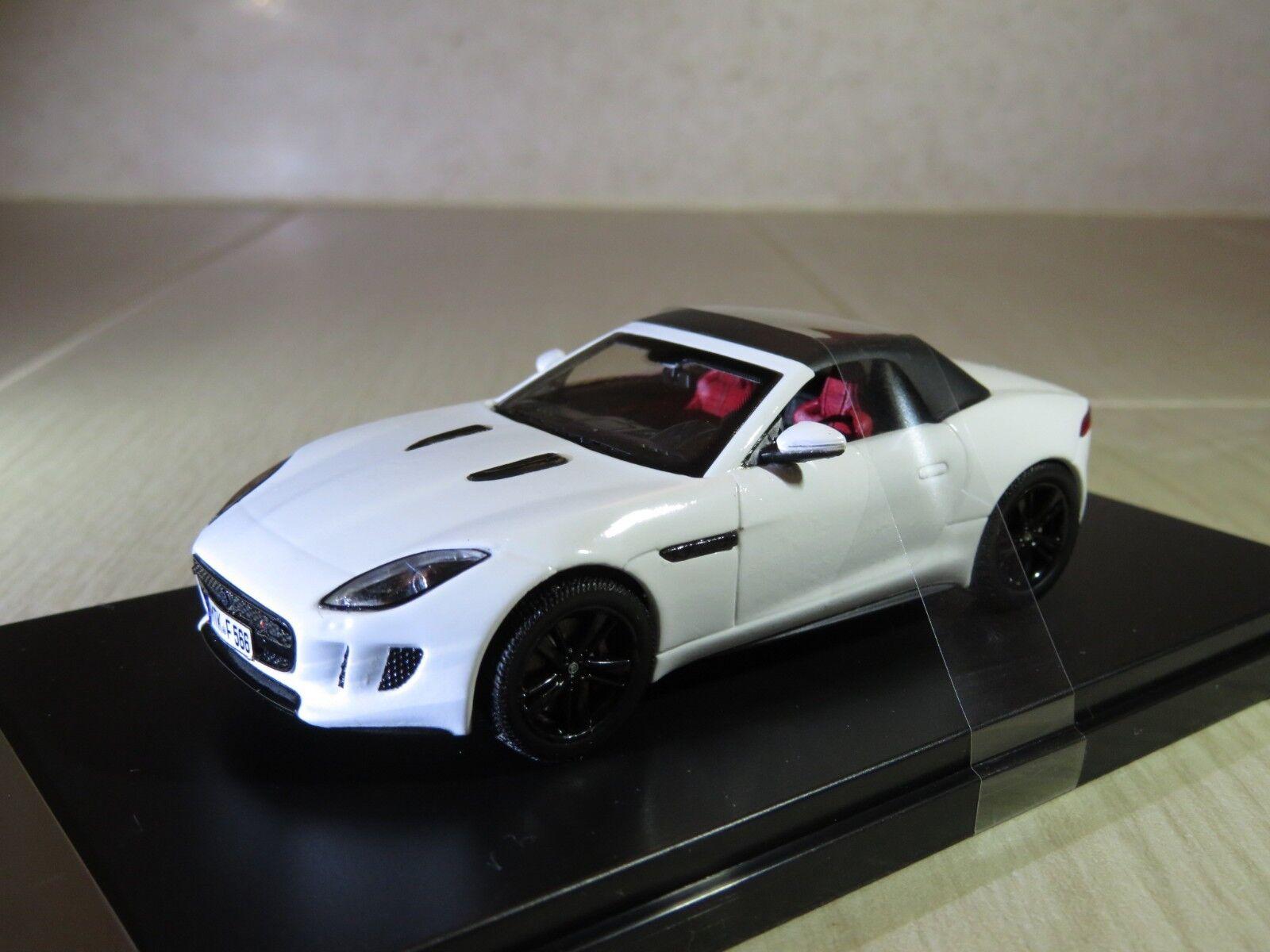 1/43 Jaguar F-TYPE V8 S soft top  2013  diecast