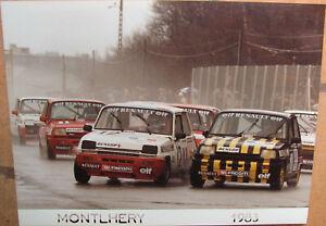 139 . 1 X Photo . Montlhery . Renault . 1983 . Format : 18 X 24 Cm .