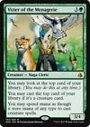 VIZIER OF THE MENAGERIE Amonkhet MTG Green Creature — Naga Cleric Mythic Rare