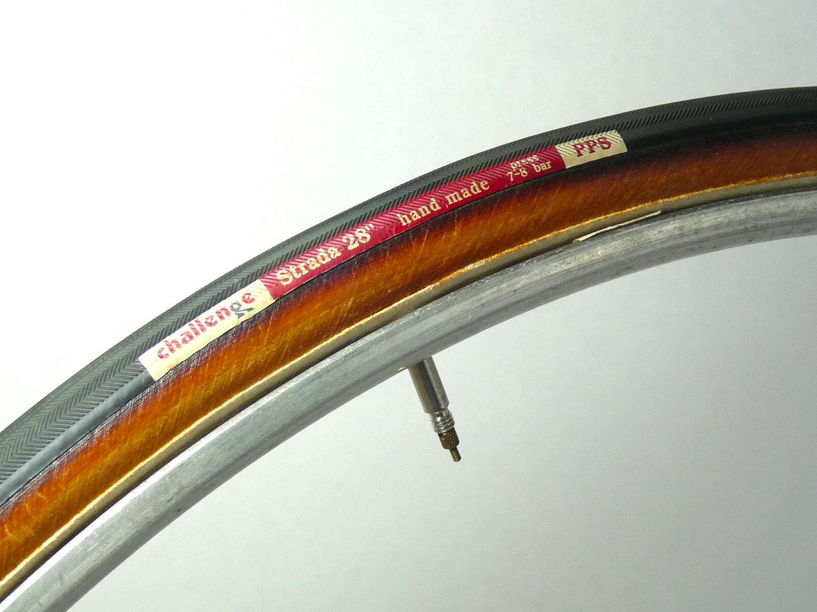 Challenge tubular tire Strada handmade tire 700C 27  1990's new old NOS