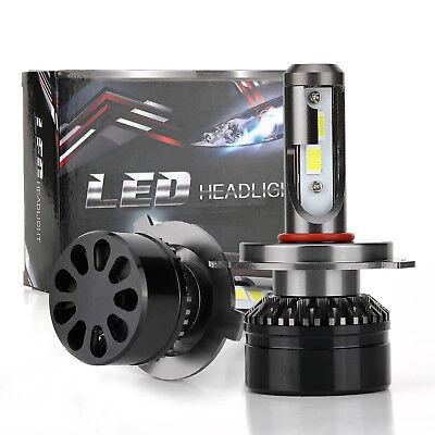 Auto Car H4 9003 10000LM 60W High Low LED Headlight Conversion Bulbs 6000K White