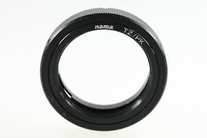 Hama-T2-PK-Adapter-Adapterring-Objektivadapter-f-Pentax-Kameras-an-T2-Objektive