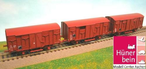 LS modellolos 30261 SNCF SET 3x 2 ACH ocem garantite autori merci GMS Marronee ep4 NUOVO  OVP