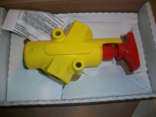"""Details about  /Parker Pneumatic Lockout Valve LV41A    1//2/"""" NPT   NEW IN BOX"""