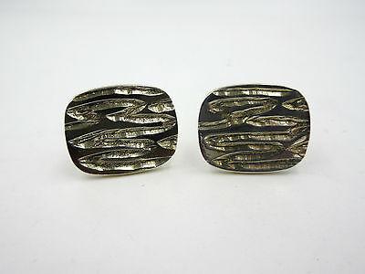 Vintage Birmingham England Sterling Silver Cufflinks Signed PP LTD