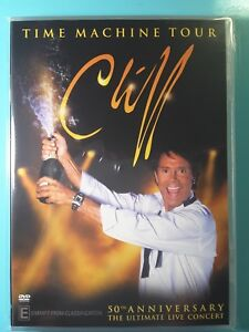 Cliff-Richard-DVD-LIVE-CONCERT-TOUR-Machine-Tour-Chill-REGION-4-AUST