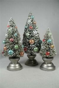 Winter Wilderness-By Grasslands Road-Set of 3 Christmas Trees #463149 NIB!