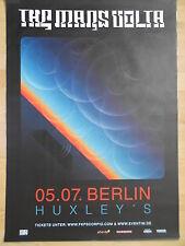 THE MARS VOLTA 2012 BERLIN  orig.Concert-Konzert-Tour-Poster-Plakat DIN A1