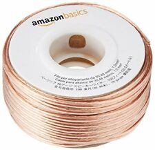 AmazonBasics SW100ft 16-gauge Audio Stereo Speaker Wire Cable - 100 Feet