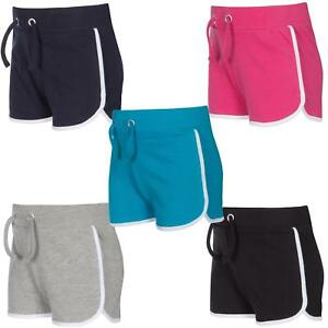 Girls-Childrens-Cotton-Jersey-Summer-Shorts-2-13-Years