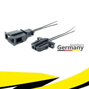 Auto & Motorrad: Teile Kabelbäume Stecker 3-polig Reparatursatz uncodiert für BMW 61138377072 weiblich Kabel