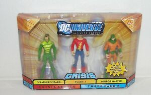 Dc Universe Crisis 3 Pack Weather Wizard Flash 1 Mirror Master