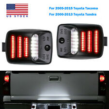 2x Red Oled Tube Led License Plate Light For 2005 2015 Toyota Tacoma Tundra Lamp