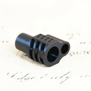 Details about 1911 Full Size Muzzle Brake Compensator  45 ACP Precision CNC  Steel QPQ Black