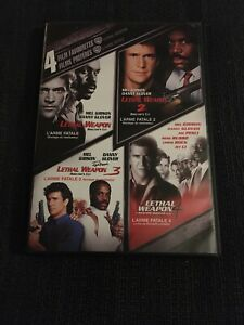 4-Film-Favorites-Lethal-Weapon-DVD-2007-2-Disc-Set-Canadian-French
