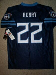 2020-2021-Tennessee-Titans-DERRICK-HENRY-nfl-Jersey-YOUTH-KIDS-BOYS-xl