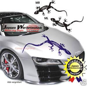 Autoaufkleber Audi Gecko Tribal 60x30cm G4 Cartattoo Auto