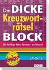 Der dicke Kreuzworträtsel-Block 12 (2013, Taschenbuch)