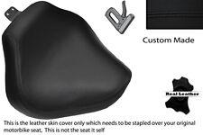 BLACK STITCH CUSTOM FITS YAMAHA XVS 1100 DRAGSTAR CUSTOM FRONT LTHR SEAT COVER