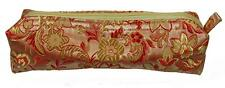 Make-Up/Cosmetics Bag Gold and Red Fabric Girls Beauty Fashion Accessory