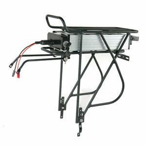 48V 15Ah Rear Rack Lithium Ebike Battery W.Rear Rack For 350~1000W Electric Bike