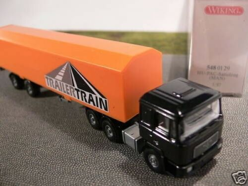 1//87 Wiking MAN F2000 Trailer Train HU-Pack SZ 548 01 B