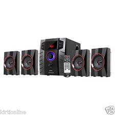 Intex 4.1 Bluetooth Speaker System IT-3005 TUF BT (USB/TF/BT/FM/AUX) With Remote