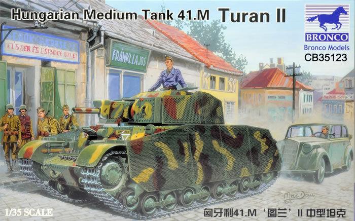 Bronco 1 35 Hungarian Medium Tank 41.M Turan II CB35123