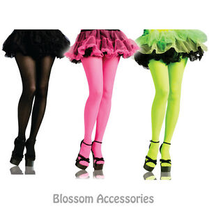 A392 80s Neon Tights 90s Pants Retro Dance Costume Accessory | eBay