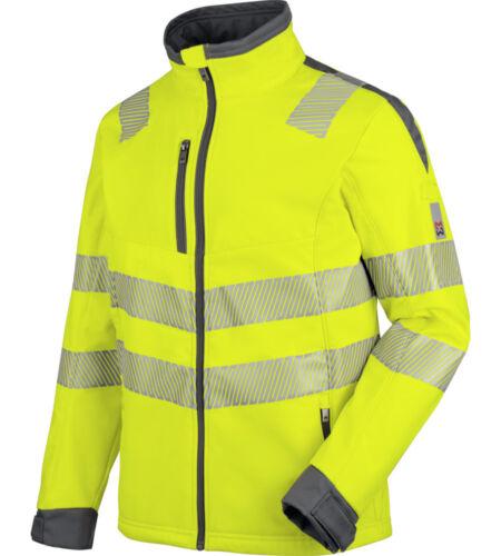 Warnschutz Softshelljacke Neon EN 20471 3 gelb anthrazit