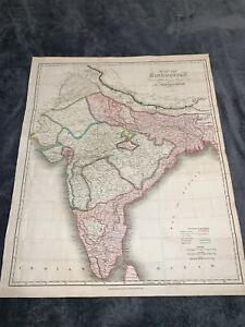 Map of Hindoostan drawn for Mill's History of British India by Arrowsmith , 1817