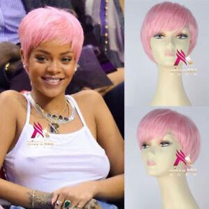 pink hair Rihanna