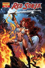 RED SONJA (Conan) # 14 a,b+c Variant-Cover-Set  JG JONES, C.CASTELLINI, MEL RUBI
