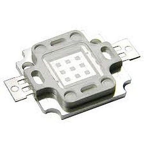 Hi-Power LED 10W UV Ultraviolet  365nm-370nm  9-11V 45mil