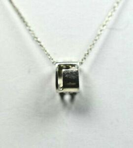 Tiffany & Co ERA L-O-V-E Pendant Charm Necklace Sterling Silver Authentic Rare