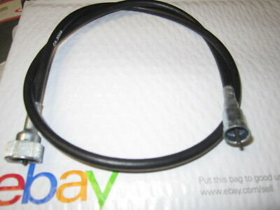 """61/"""" SPEEDOMETER CABLE CABLE PUSH-IN at dash  X 7//8/"""" NUT at transmission GM"""
