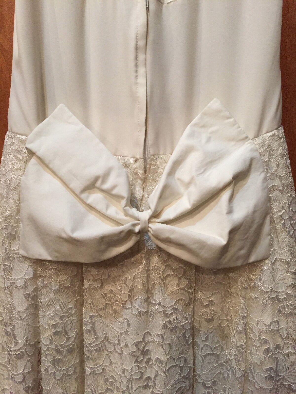 Vintage 60's Wedding Mini Dress - image 4