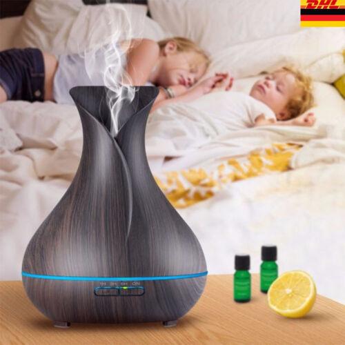 Aroma Diffuser Ultraschall Duftlampe Luftreiniger Aromatherapie Luftbefeuchter